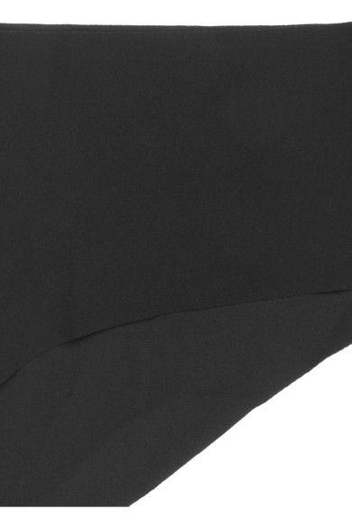 La Perla - Up Date Stretch-jersey Briefs - Black - 3