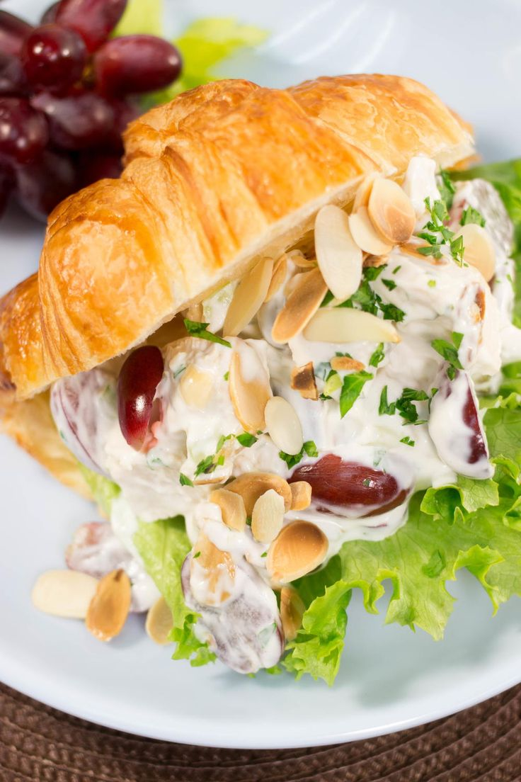 Neiman Marcus Chicken Salad Copycat | The perfect light lunch for Easter!