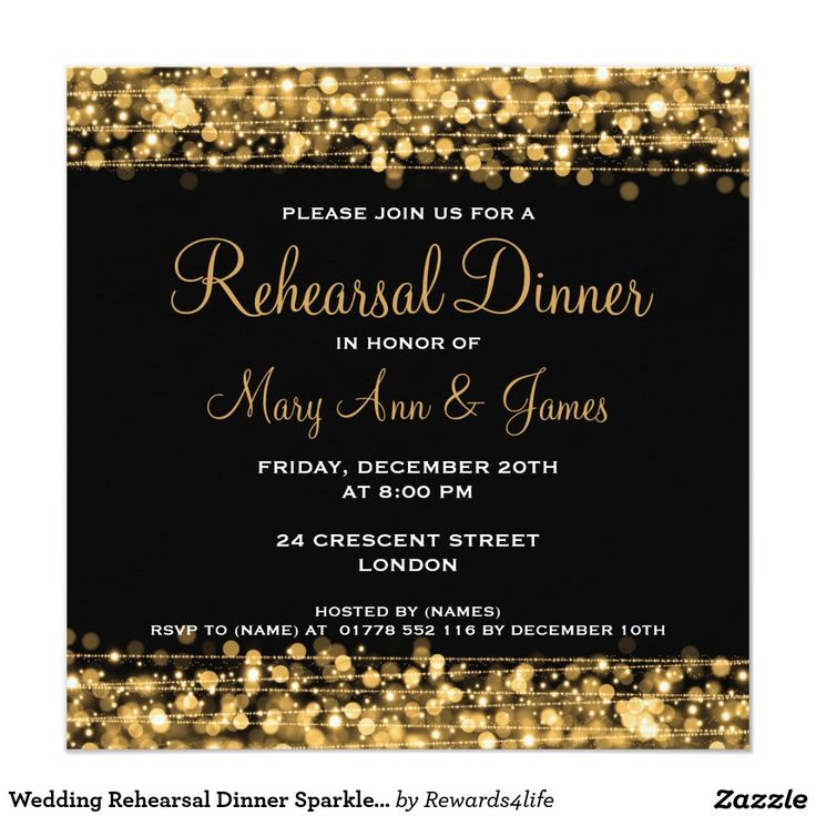 618 best wedding elegant invitations images on pinterest wedding rehearsal dinner sparkles gold invitation stopboris Choice Image