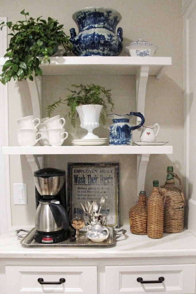 327 best home coffee stations images on pinterest coffee nook coffee bar ideas and coffee corner. Black Bedroom Furniture Sets. Home Design Ideas