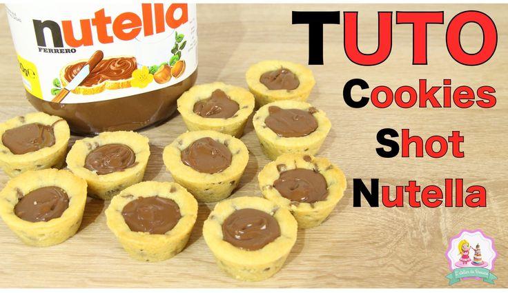 Les 10 meilleures images du tableau l 39 atelier de roxane sur pinterest le meilleur patissier - Recette de cookies au nutella ...