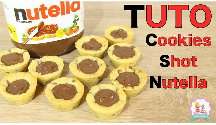 cookies shot nutella, recette nutella, recette cookies nutella, nutella recipe, cookies recipe,