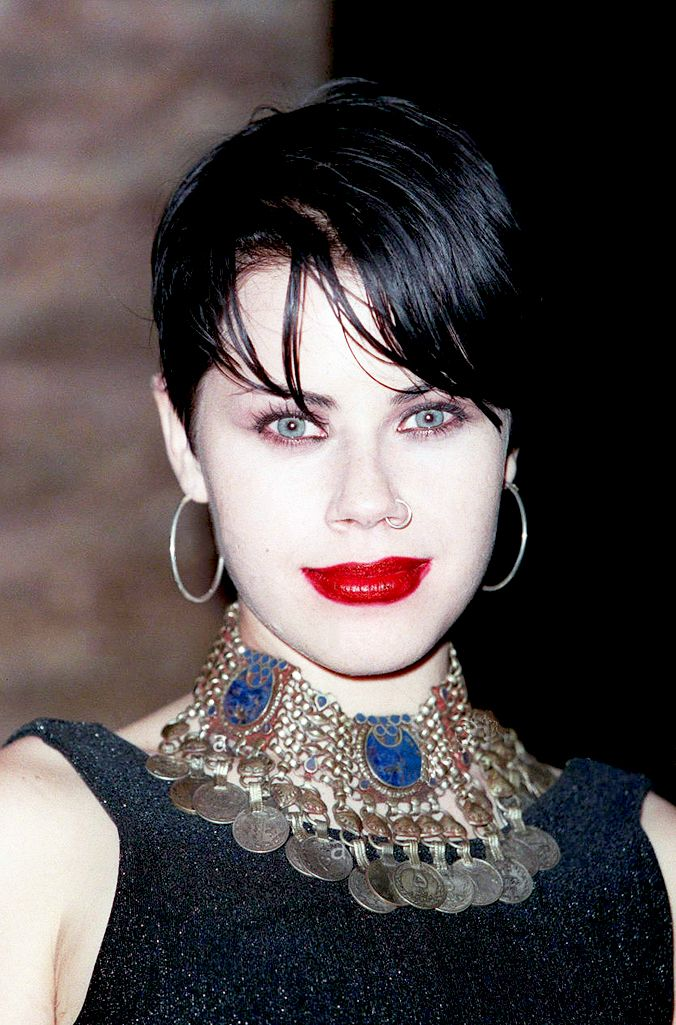 """Fairuza Balk at the Vanity Fair Oscar Party, Morton's Restaurant, West Hollywood, 1997 """