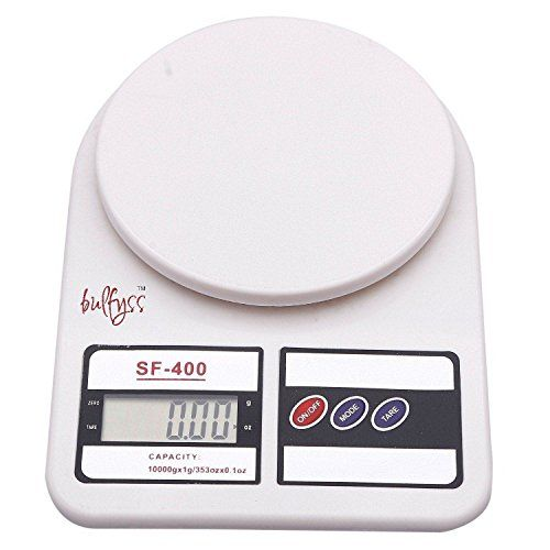 Bulfyss Electronic Kitchen Digital Weighing Scale (10 Kg)||  Bulfyss Electronic Kitchen Digital Weighing Scale (10 Kg) INR 599.00 View Details  2 of 2 people found the following review helpful   Good one for measuring small quantities   By  Rajesh Kumar - See all my reviews  Verified Purchase(What is this?)  This review is from: Bulfyss Electronic Kitchen Digital Weighing Scale (10 Kg)  More than an year since we purchased it. Used occasionally and it is working very well. After getting more…
