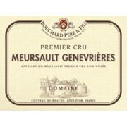 Bouchard Pere & Fils Meursault Genevrieres 2010 from Burgundy, France - Pale gold colour with green shades. Rich bouquet developing flavours of candied fruit, citrus fruit and dried apricot ...