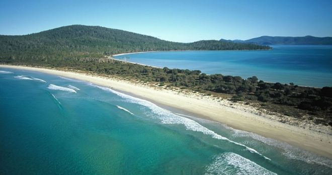 The Maria Island Walk of Australia with the Walking Connection.