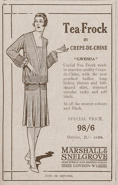 Corset Laced Mannequins: Wonderful 1920s fashion adverts.