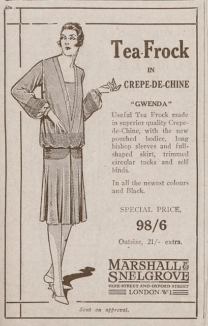 Corset Laced Mannequins: Wonderful 1920s fashion adverts.