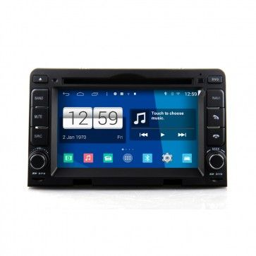 Autoradio GPS DVD Hyundai I30 Auto AC S160 Android 4.4.4 avec HD Ecran tactile Support Smartphone Bluetooth kit main libre Microphone RDS CD SD USB 3G Wifi TV MirrorLink