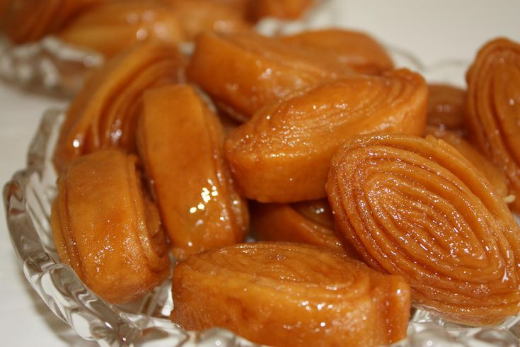 The Tapeswaram Kaja, one of the popular sweets in Godavari area, different from the Kakinada Kaja.