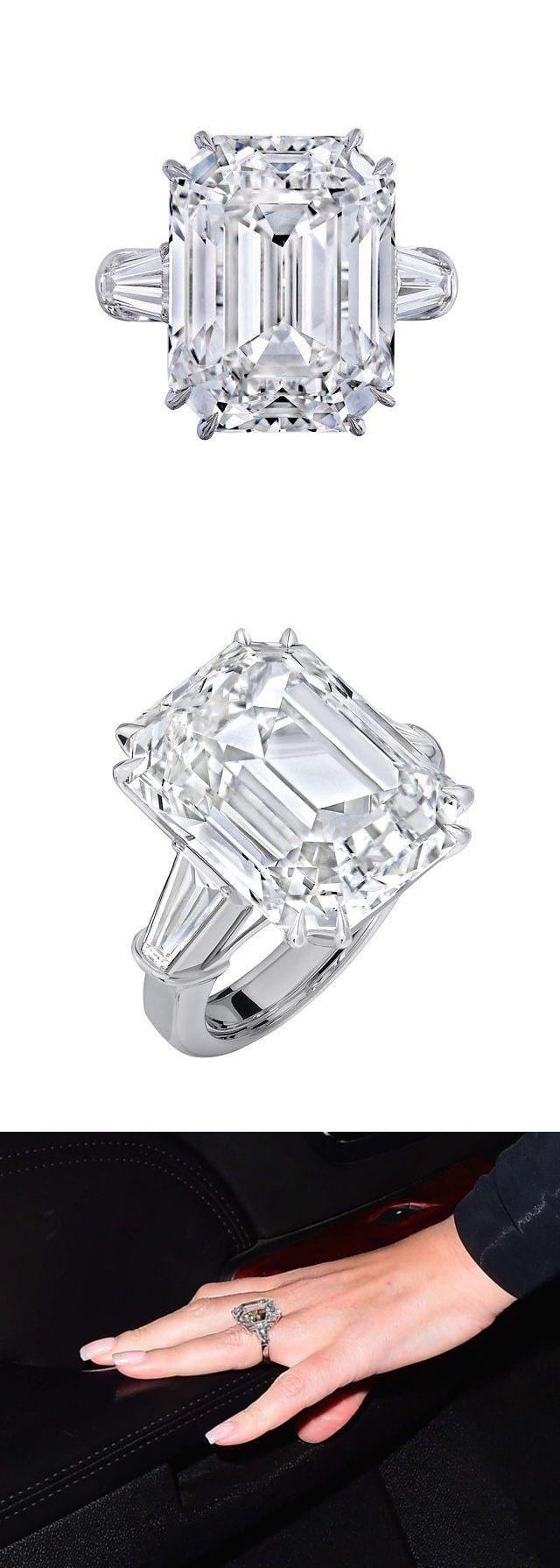 Mariah Carey's 35-carat engagement ring stunner from Wilfredo Rosado.
