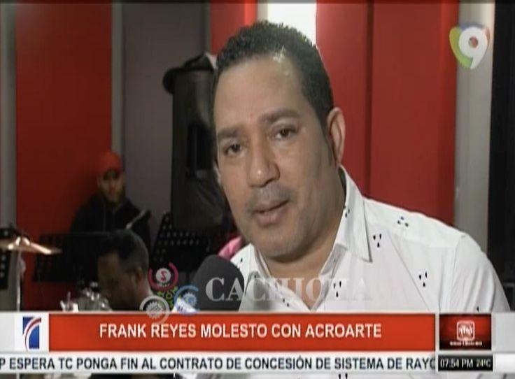 Lo último. Bachatero Frank Reyes Arremete Contra El Torito Y Acroarte Por Que No Ganó Bachata Del Año