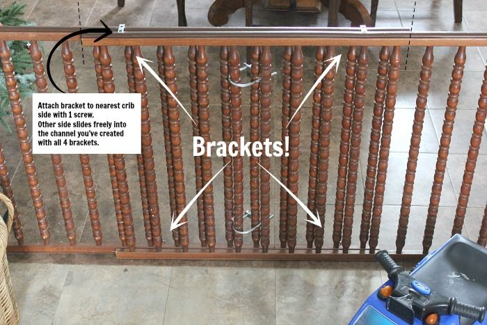 How to DIY a Baby Gate for a Large Opening With Salvaged Materials