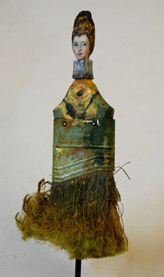 Artist Rebecca Szeto nog ergens een kwast liggen?