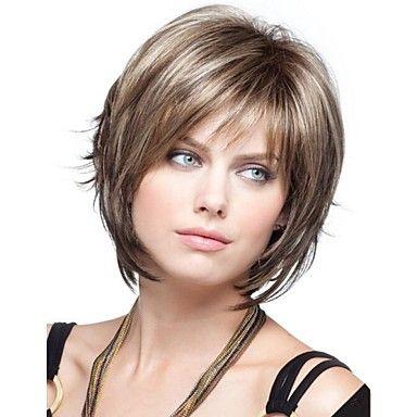 les+femmes+dame+perruques+de+cheveux+synthétiques+courts+–+EUR+€+18.61