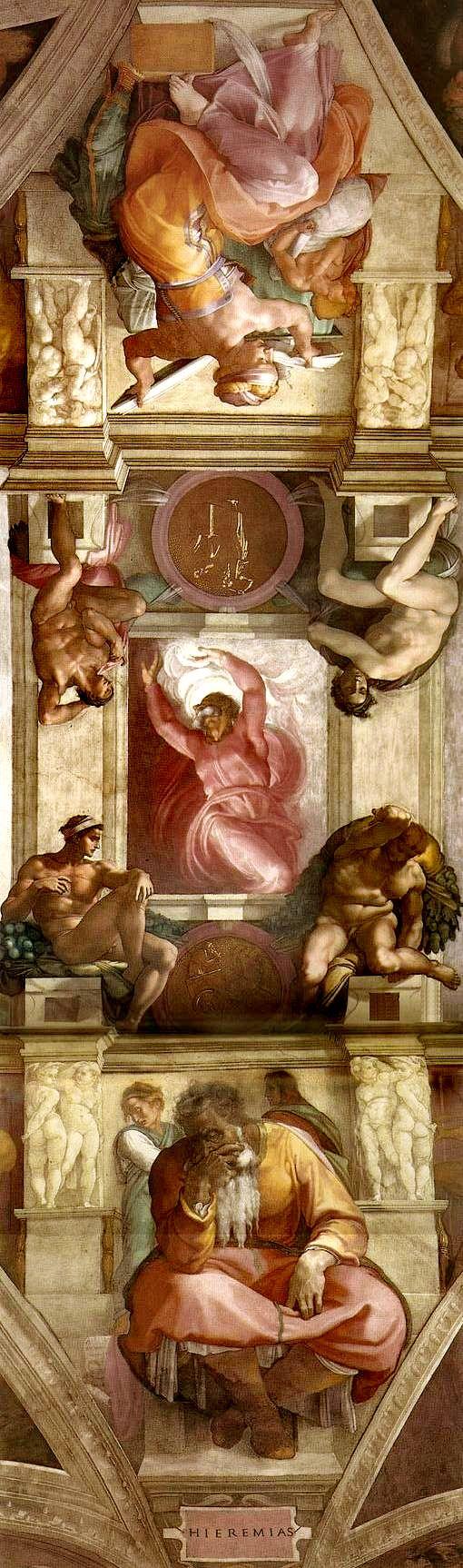 MICHELANGELO BUONARROTI - (1475 - 1564) - Sistine Chapel