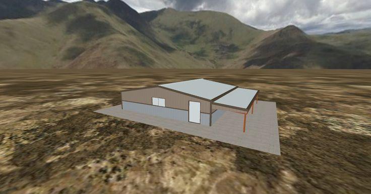 Cool 3D #marketing http://ift.tt/2pj1GWw #barn #workshop #greenhouse #garage #roofing #DIY