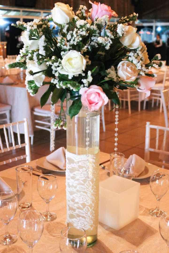 Centros de mesa altos - bodas.com.mx