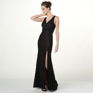 Beaded Sleeveless Lace Sheath Evening Gown from #YesStyle <3 YesStyle Dress YesStyle.com.au
