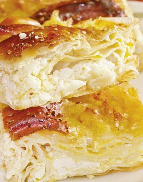 Plăcintă cu brânză de vaci   Retete culinare - Romanesti si din Bucataria internationala