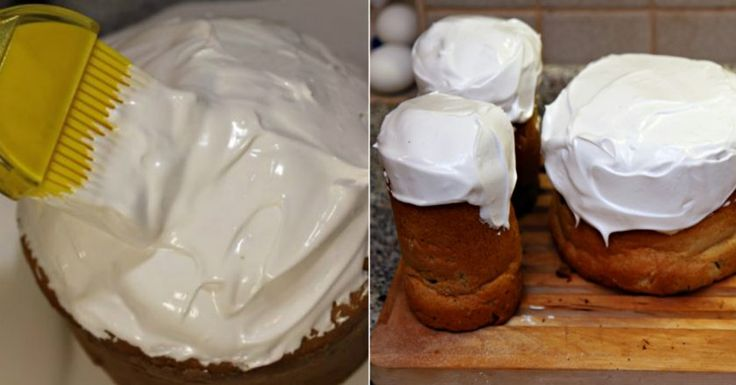 Najlepšia snehová poleva na torty a koláče všetkých čias, nerozteká sa, jednoducho famózna. Inú už robiť nebudete