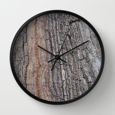 Wall Clock • 'Bark' • IN STOCK • $30.00 • Go to the store by clicking the item.