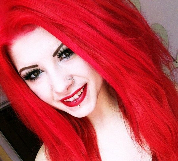 19 Bold and Bright Red Hair Color Ideas  - http://slodive.com/design/bright-red-hair-color-ideas/