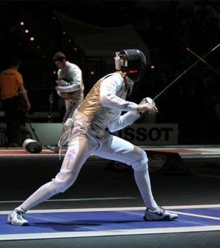 Olympic fencers Tim Morehouse and Race Imboden detail the combination of cardio, strength, and technical training that goes into competing in their sport.