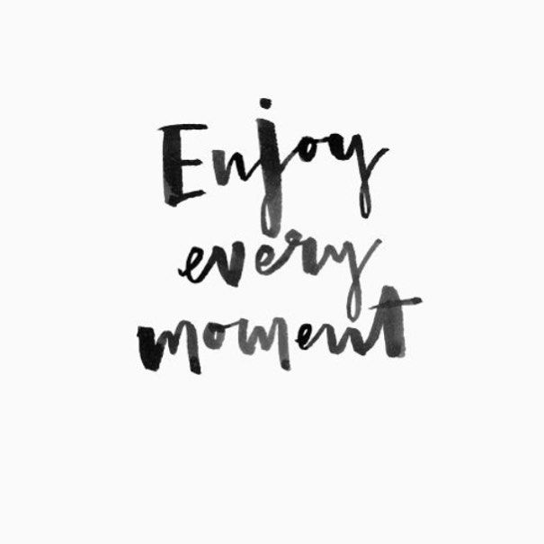 enjoy every moment via @chasingpapernyc Instagram