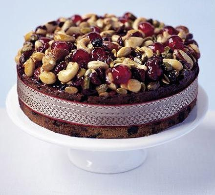 Christmas Cake Recipe Without Glace Cherries