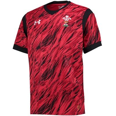 Wales Rugby 7s Supporters Shirt 15/16 Red
