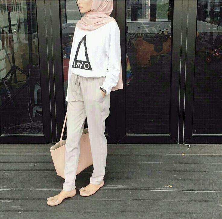 Hijab Fashion Outfits Pinterest Hijab Outfit Fashion And Ootd