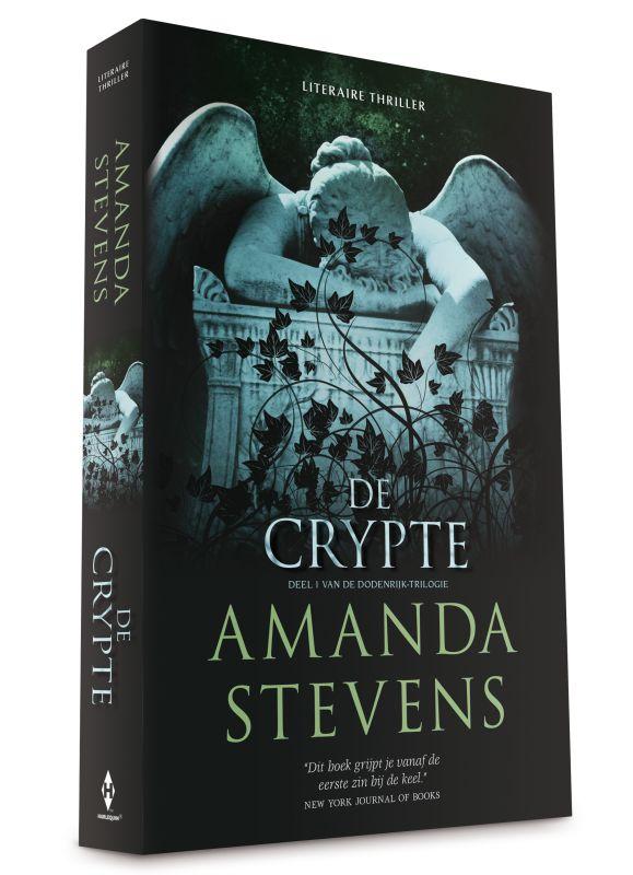 """Superspannend """"spookverhaal"""" met romantisch tintje: Recensie: De crypte - Amanda Stevens"""