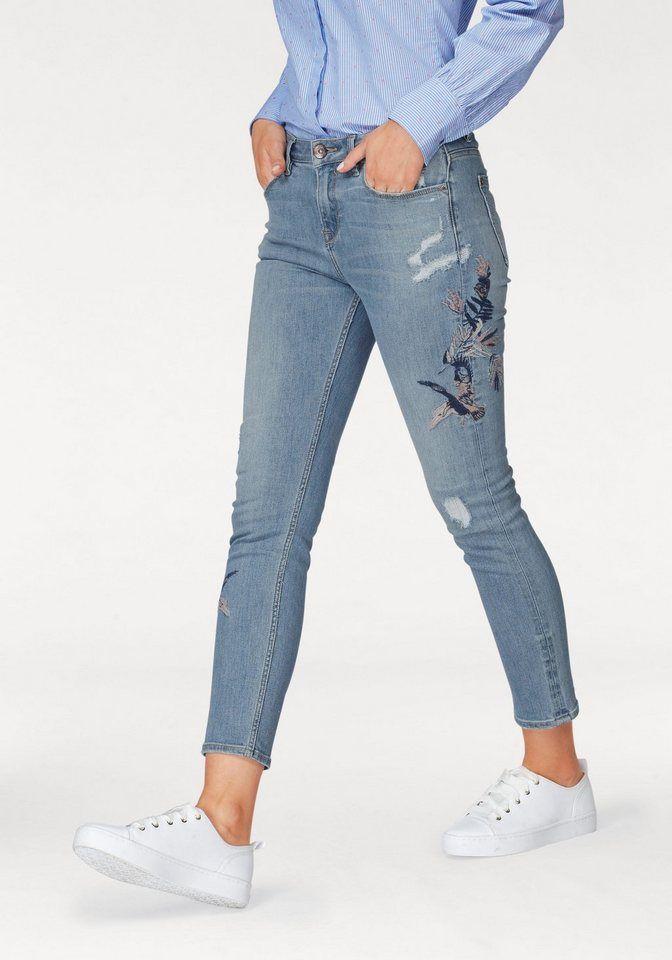 7898c1a49 Garcia Slim-fit-Jeans mti Destroyed Effekten | Produktkatalog ...