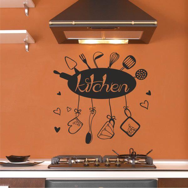 Μικρές λεπτομέρειες στην διακόσμηση της κουζίνας μας θα κάνουν την διαφορά και σίγουρα θα μας φτιάξουν την διάθεση. Αυτοκόλλητο τοίχου DigiWall