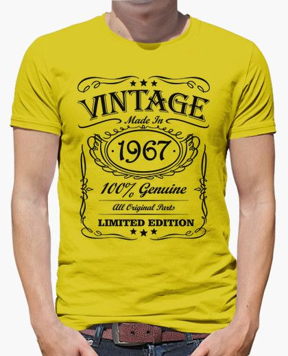 Camiseta Vintage made in 1967