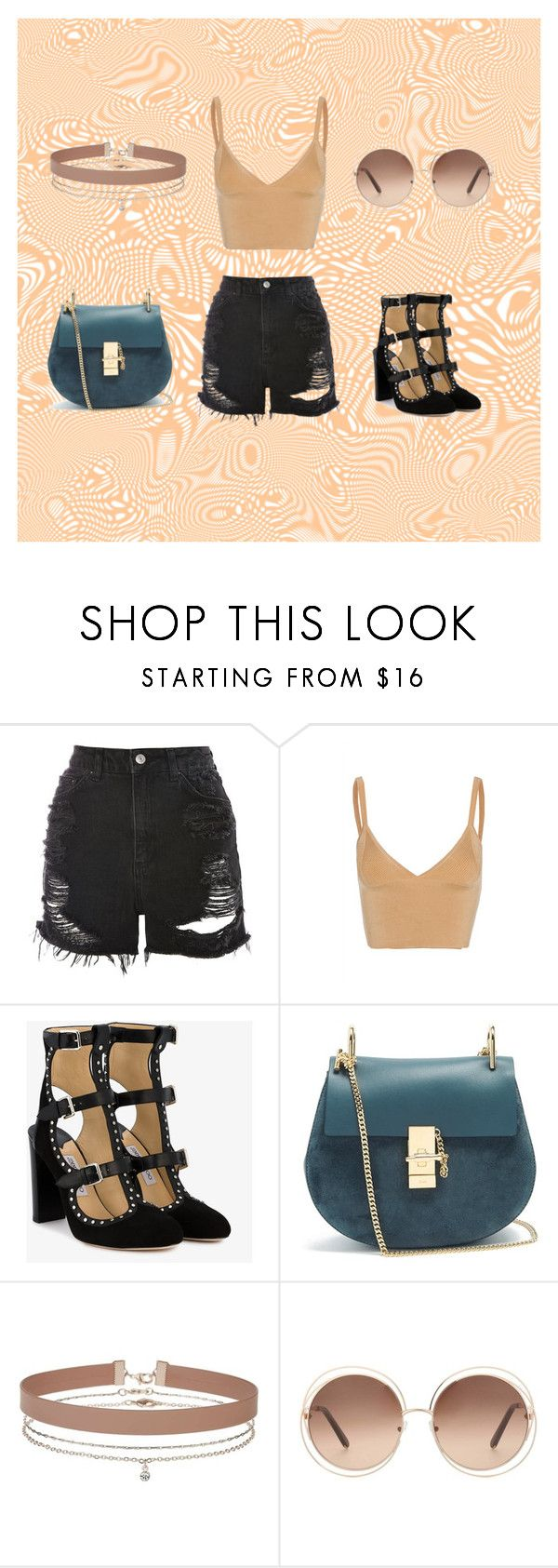 📜📜 by anne-maren-weisser-fredriksen on Polyvore featuring Dion Lee, Topshop, Jimmy Choo, Chloé, Miss Selfridge and vintage