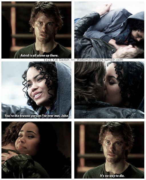 TTP - 1x21 Kill Switch [gifset] - so much Jastrid! - John Young, Astrid Finch, The Tomorrow People