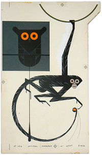 charley harper monkey - Google Search