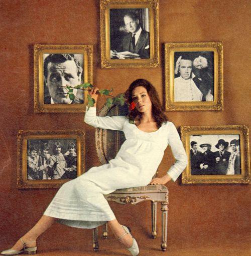 Diana Rigg | 60s | Wedding Inspiration | Bond Style | Moodboard