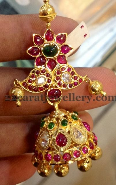 Jhumka for Mango Mala | Jewellery Designs