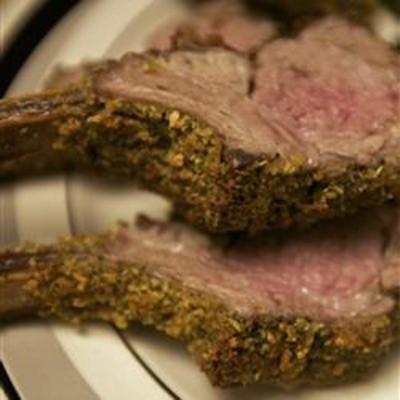 #recipe #food #cooking Roasted Rack of Lamb