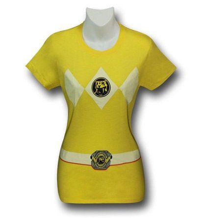 Images of Power Rangers Yellow Ranger Women's T-Shirt
