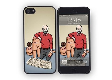 iPhone 4/4s/5 case Dummy / designed by Jakub Tytykalo / 31,- € / www.vajco.cz