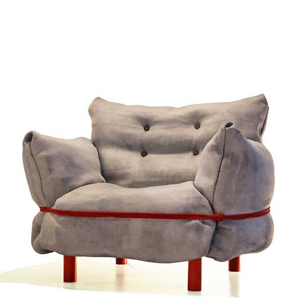 Swedish Ninja's Concrete Cloth Chair