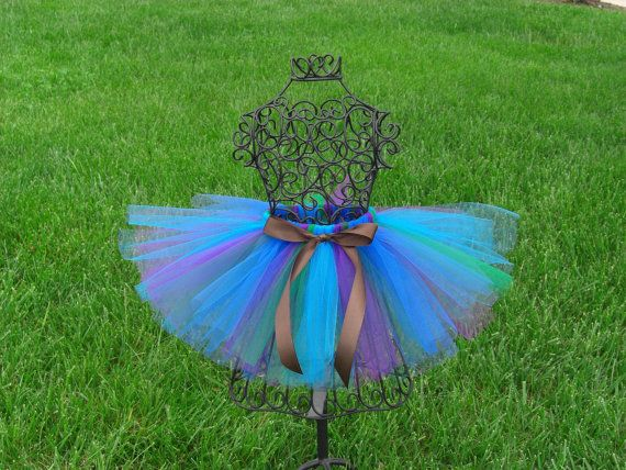 Peacock tutu- Girls Peacock tutu- Baby Peacock tutu- Peacock Costume- Toddler Peacock tutu- Baby Peacock Costume on Etsy, $22.50