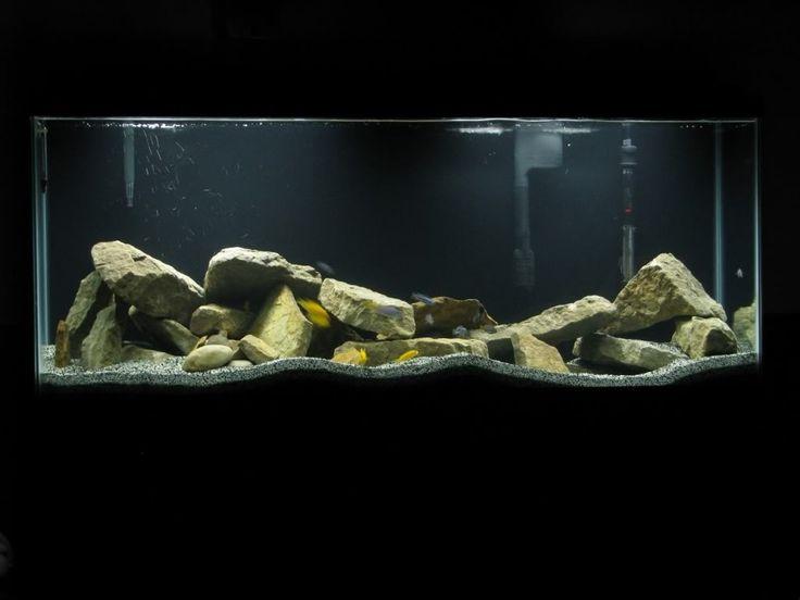 20 best images about aquarium set up ideas on pinterest for Rocks for fish tank
