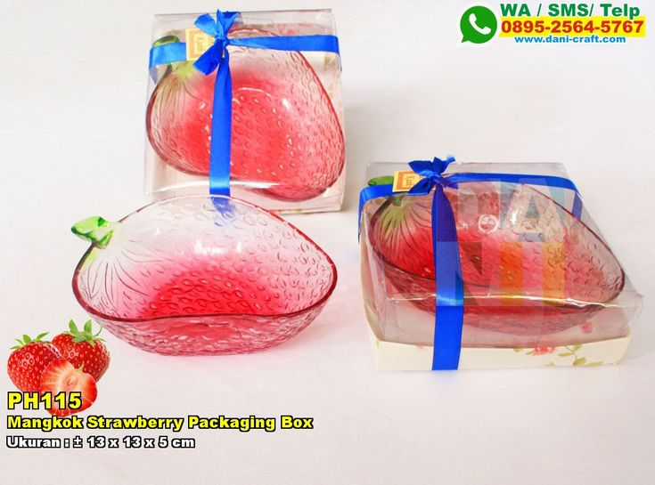 Mangkok Strawberry Packaging Box WA 0857-4384-2114 & 0819-0403-4240 BBM 5B47CC61 #MangkokStrawberry #DistributorStrawberry #souvenirMurah