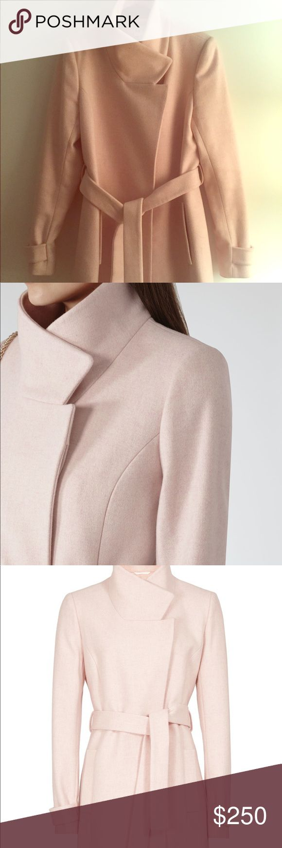 Reiss Coat Mid Lengthen US 8 75% Wool 20% Polyamide, 5% Cashmere  Brand new with original tag.  Original price $475 Reiss Jackets & Coats
