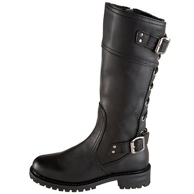 25  best ideas about Ladies biker boots on Pinterest | Black ...